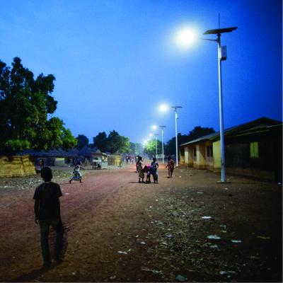 Alumbrado Publico Solar Rural