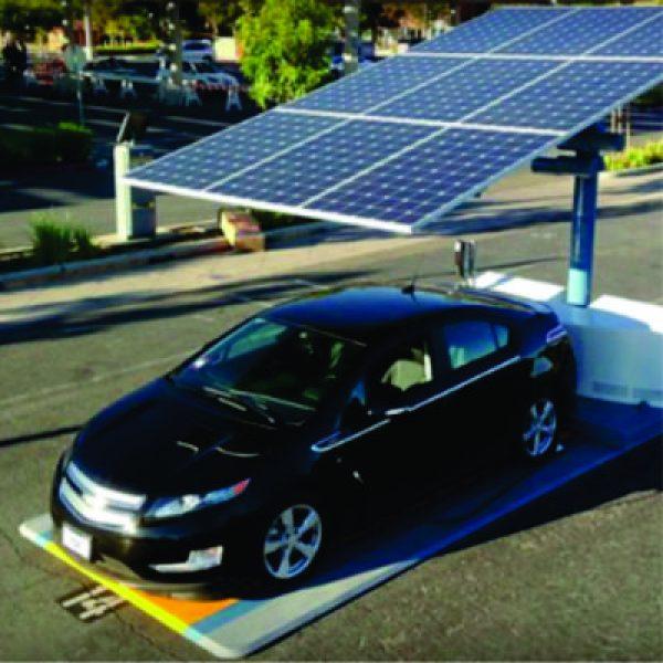 Estacion de Craga Solar para Automoviles