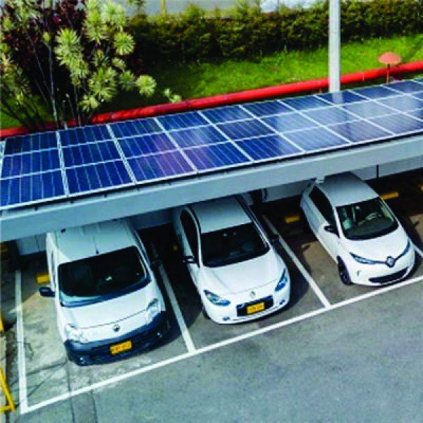 Estacionamiento Solar de Automobiles