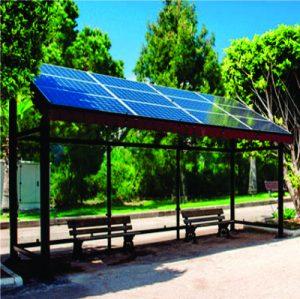 Paradero Solar de Autobus Rural
